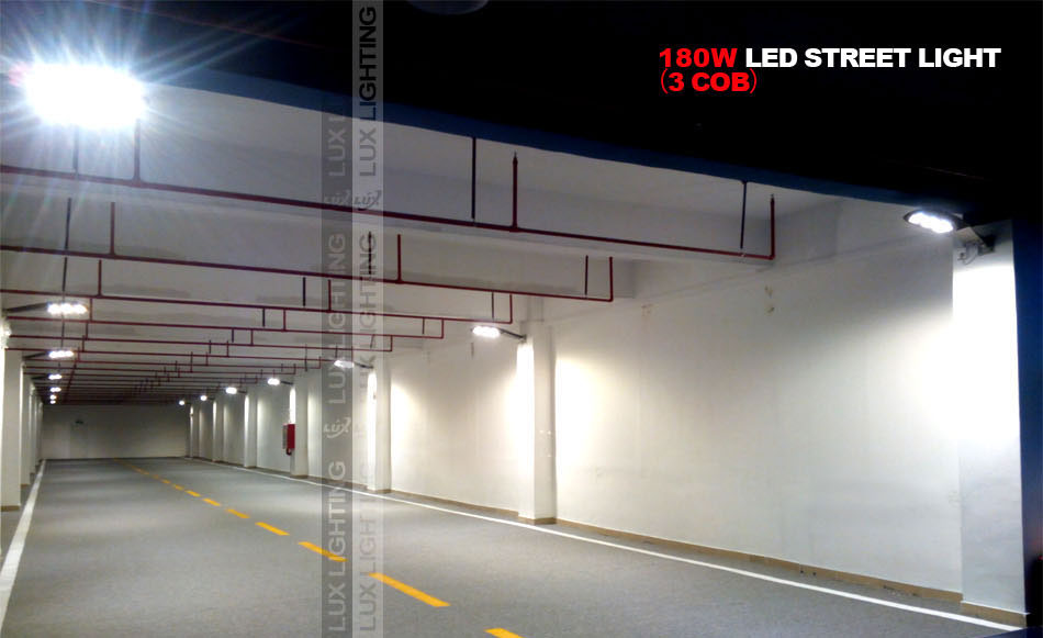 Dolphin Series 180w led street light project in HK