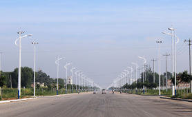 Classic Series Street Lighting Project in China