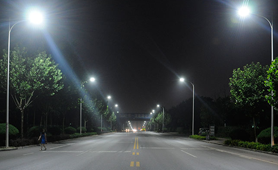 Dolphin Series Street Lighting Project in China