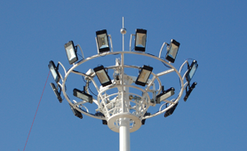led floodlight municipal lighting project in Brazil